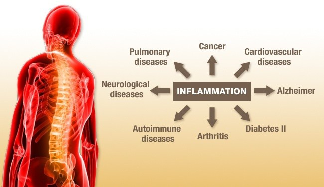 Diseases caused by Inflammation